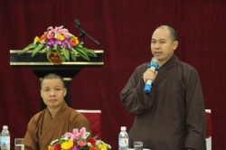Ninh Binh:  A conference held among hotels to prepare for the up-coming Vesak 2014