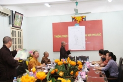 Hanoi: the Security Subcommittee for the United Nations Day of VESAK 2014 gathered to discuss the task implementation