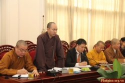Deputy Director of Ministry of Culture, Sport and Tourism presided the logistics meeting for VESAK 2014