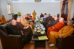 Executive Council of Vietnam Buddhist Sangha's Meeting on its being the host of the UN Day of Vesak 2014