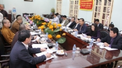Ministry of Finance had a meeting with National Vietnam Buddhist Sangha on VESAK 2014